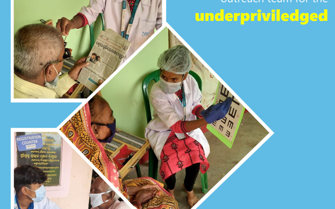 EYECARE Camp Conducted By Care Netram's Outreach Team For The Underprivileged