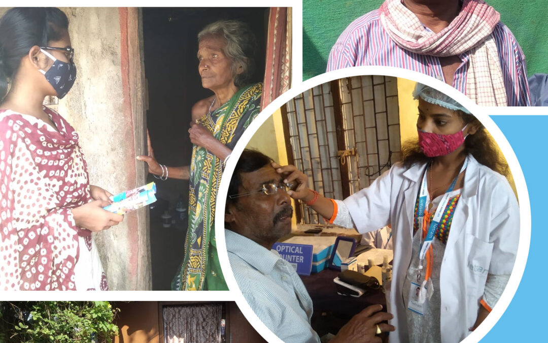 Eye Check Up And Spectacle Distribution During Awareness Program By Team Care Netram
